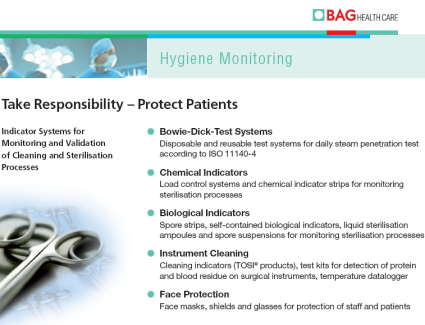 BAG Health Care GmbH - Hygiene Monitoring