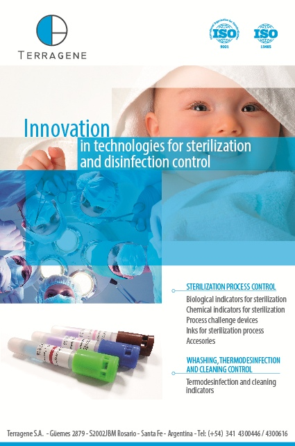 TERRAGENE - Innovation in technologies for sterilization and disinfection control